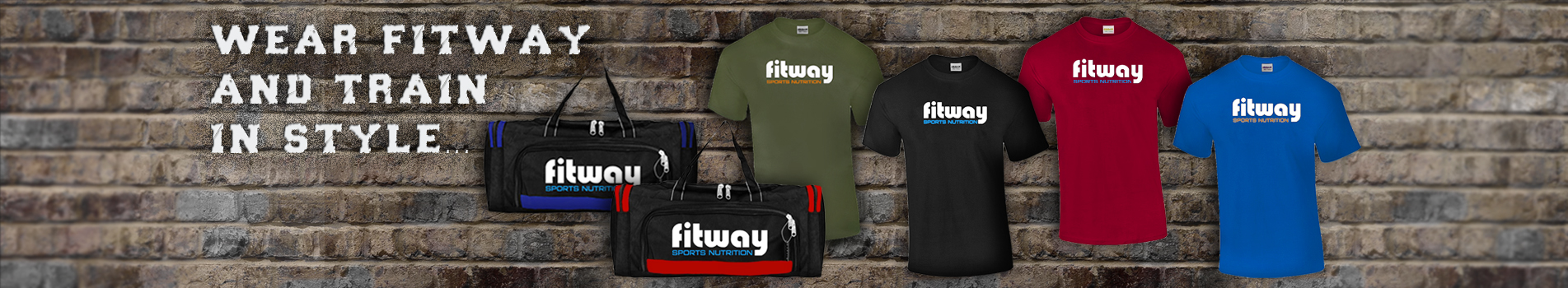 FW t-shirts & gym bags