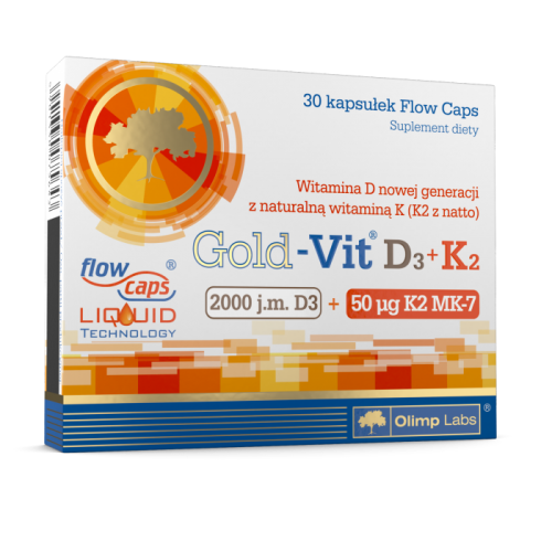 Olimp Gold-Vit D3+K2 2000